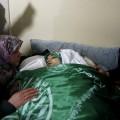 صور : من وداع الشهيدة الفتاة كلزار العويوي (18عاما) والتي استشهدت ظهر اليوم برصاص جيش الاحتلال قرب الحرم الإبراهيمي بالخليل