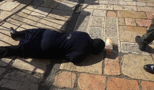 فيديو: استشهاد فلسطينية قرب
