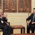 الأسد والإبراهيمي في دمشق قبل أيام