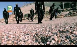 فيديو كليب \ أنشودة عشاق البحر . لوحدة الكوماندوز البحرية في كتائب القسام