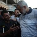 هنية خلال جولة على الأسواق بغزة