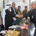 صور : لجنة مخيم البريج تكرم عمال البلدية وشهدائها 22-3-2016م