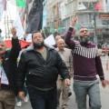 لجان المقاومة تشارك في مسيرة الغضب ضد الفيتو الأمريكي