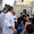 بالصور : الوية الناصر صلاح الدين – لواء غزة توزع الحلويات والألعاب علي أبناء شعبنا