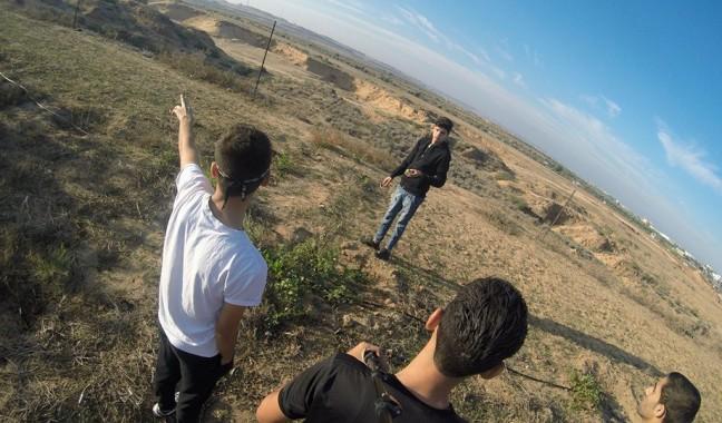 شرق قطاع غزة.. جمال الطبيعة يتجلّى في أراضيها
