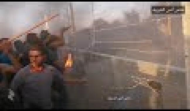 شاهد: هكذا اقتحم الثائرون السياج الفاصل شرقي غزة الجمعة الماضية