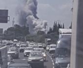 انفجار كبير يهز مصنع عسكري  إسرائيلي خلال تجربة قرب تل أبيب