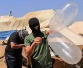إطلاق البالونات الحارقة من قطاع غزة