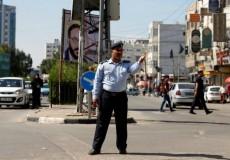شرطي المرور غزة