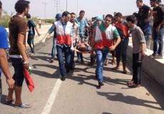 3 إصابات برصاص الاحتلال قرب إيرز شمال غزة