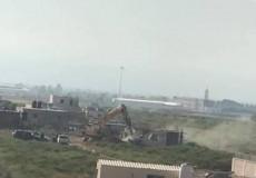 الاحتلال يهدم منزلا قيد الانشاء بأريحا