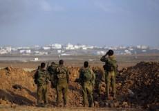 الاحتلال يراقب الحدود مع غزة