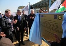 الانتهاء من إنشاء مشروع محطة تحلية مياه البحر في غزة