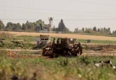 توغل محدود لجرافات الاحتلال شرق رفح