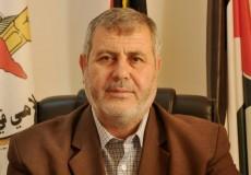 عضو المكتب السياسي لحركة الجهاد الإسلامي في فلسطين خالد البطش