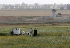 قوات الاحتلال تطلق النار تجاه الأراضي الزراعية شرقي القطاع