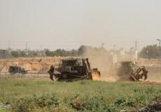 توغل إسرائيلي وإطلاق نار