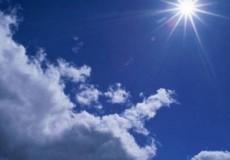 حالة الطقس ارتفاع على درجات الحرارة