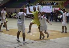 إطلاق بطولة كأس فلسطين لكرة اليد بقطاع غزة