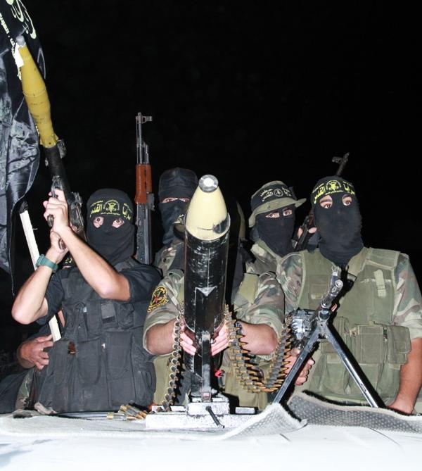 عرض عسكري لسرايا القدس بمناسبة